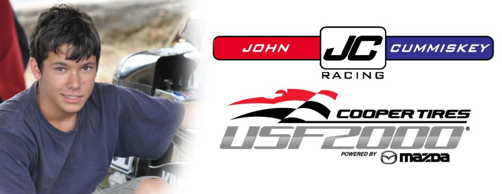 JOHN CUMMISKEY RACING SIGNS AUSTRALIAN DRIVER JORDAN LLOYD