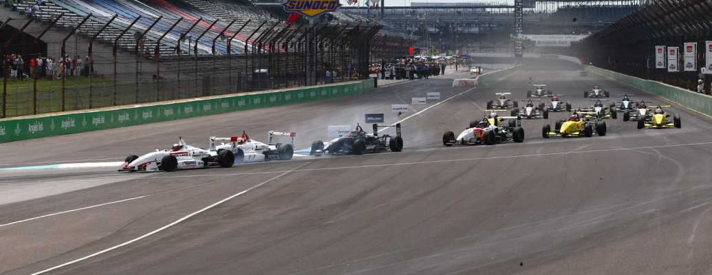 MARTIN FINISHES 4TH IN THRILLING RACE 1 AT INDY