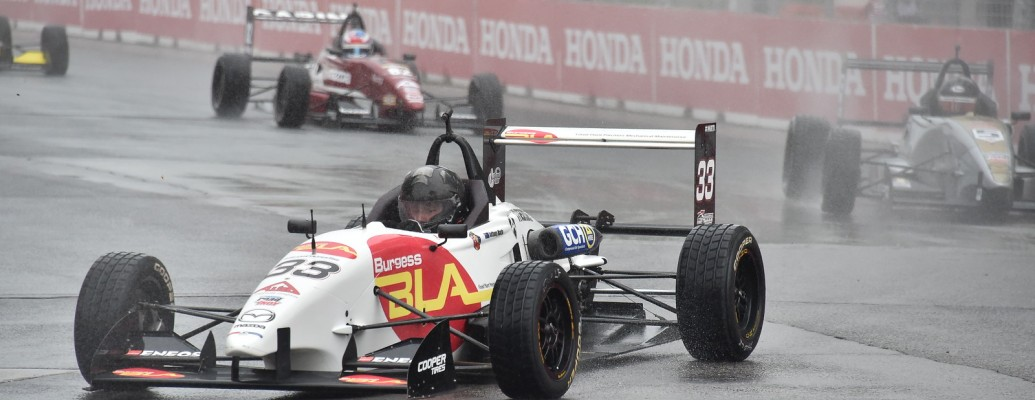 MARTIN EXTENDS TOP-5 STREAK, CLOSES GAP TO 3RD IN CHAMPIONSHIP IN SOGGY TORONTO RACE 2