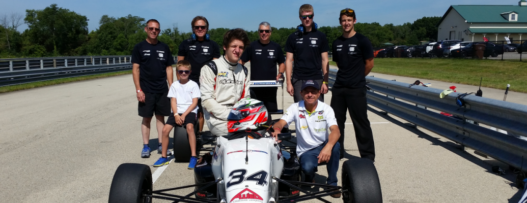 LUCAS KOHL SIGNS WITH JOHN CUMMISKEY RACING FOR 2016 USF2000 CHAMPIONSHIP